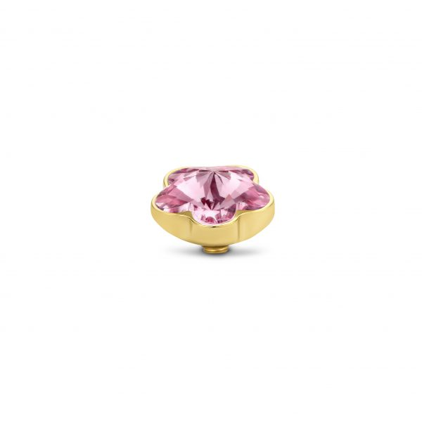 Melano Twisted Stone Flower Light Rose