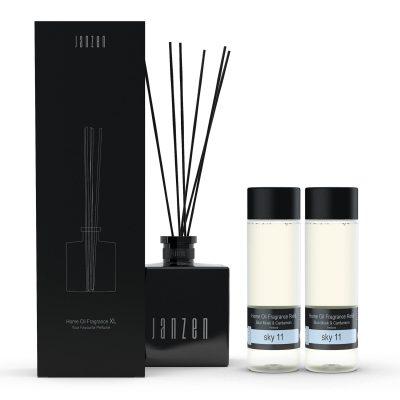 Janzen Home Fragrance Sticks XL wit - inclusief 2 vullingen sky