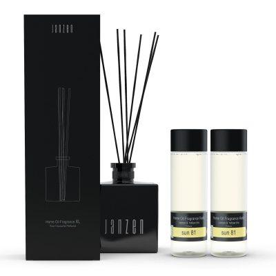 Janzen Home Fragrance Sticks XL wit - inclusief 2 vullingen sun