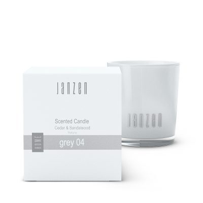Janzen Scented Candle grey