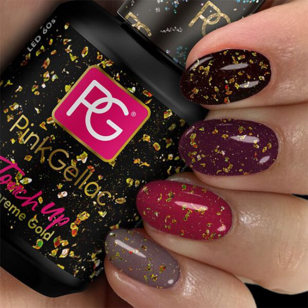 Pink Gellac Touch Up Shine Supreme Gold