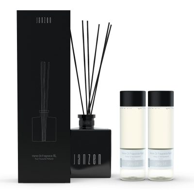 Janzen Home Fragrance Sticks XL zwart - inclusief 2 vullingen grey