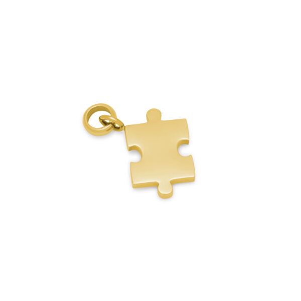 Melano Friends Pendant Puzzle Goud