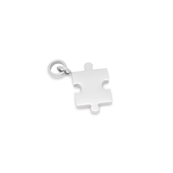 Melano Friends Pendant Puzzle Zilver