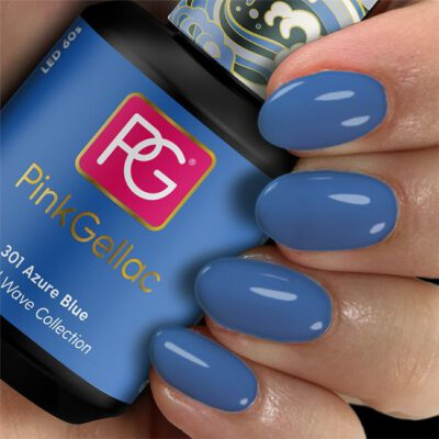 Pink 301 azure blue