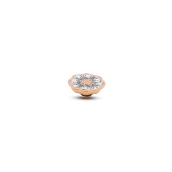 Melano Twisted Steen Citrus Roségoud 002 Crystal