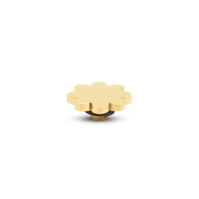 Melano Twisted Steen Flower Goud