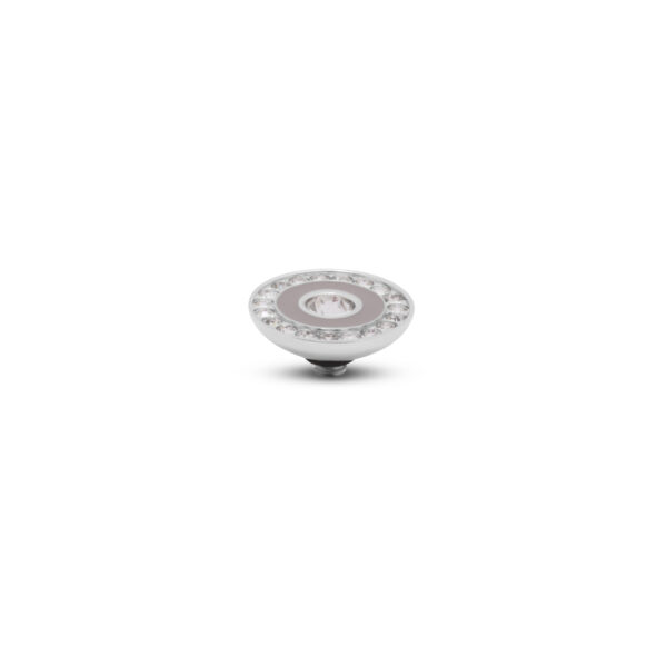 Melano Twiste Stone Resin Crystal Zilver 291