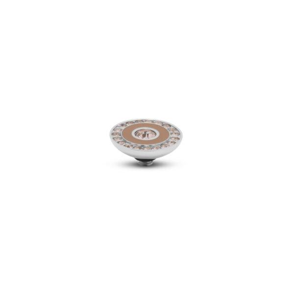 Melano Twiste Stone Resin Crystal Zilver 293