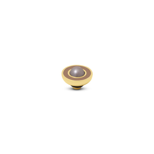 Melano Vivid Stone Resin Pearl Goud 298