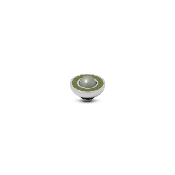 Melano Vivid Stone Resin Pearl Zilver 300