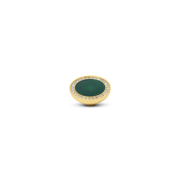 Melano Vivid Stone Engr Resin CZ Goud 305