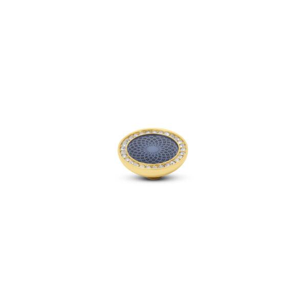 Melano Vivid Stone Engr Resin CZ Goud 306