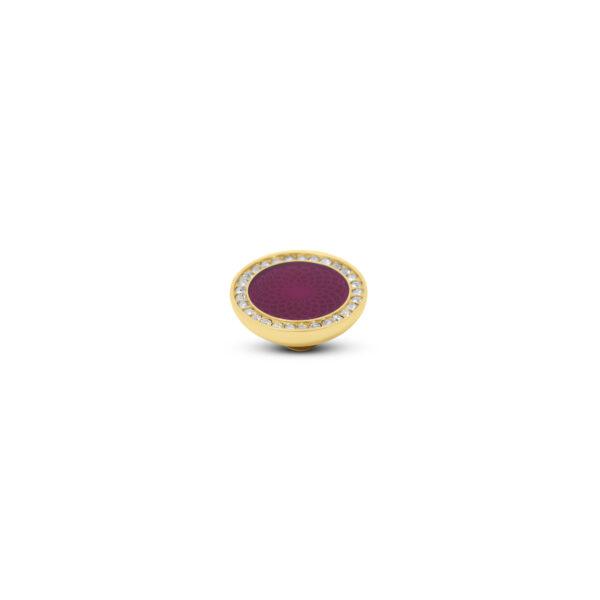 Melano Vivid Stone Engr Resin CZ Goud 307