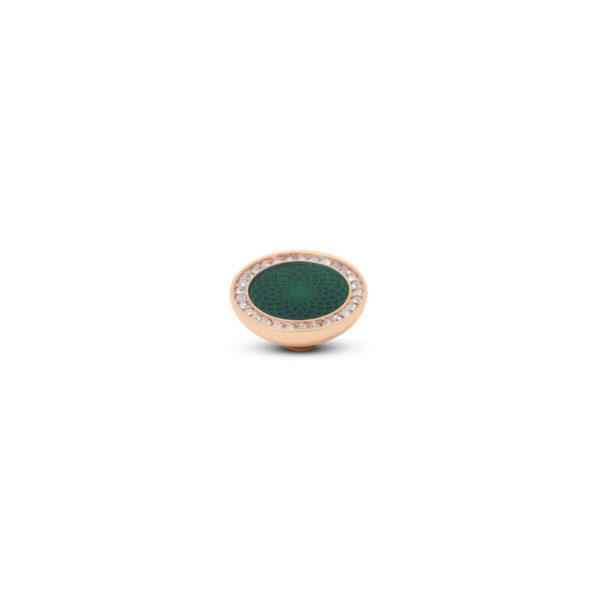 Melano Vivid Stone Engr Resin CZ Roségoud 305