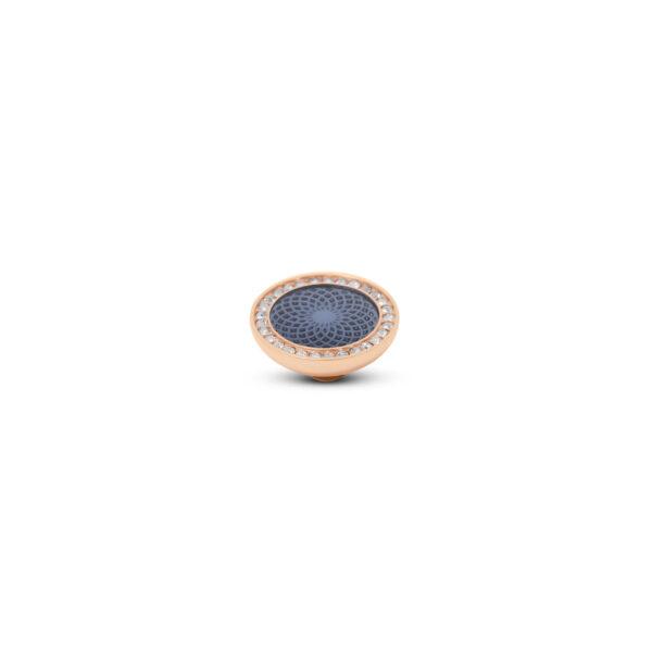 Melano Vivid Stone Engr Resin CZ Roségoud 306