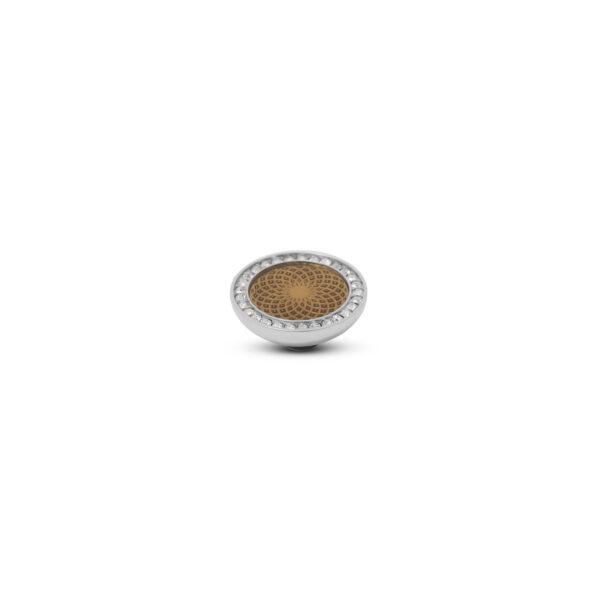 Melano Vivid Stone Engr Resin CZ Zilver 304