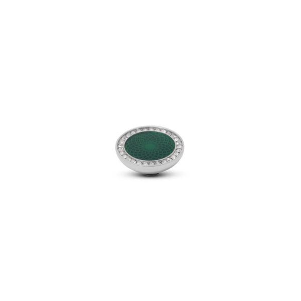 Melano Vivid Stone Engr Resin CZ Zilver 305