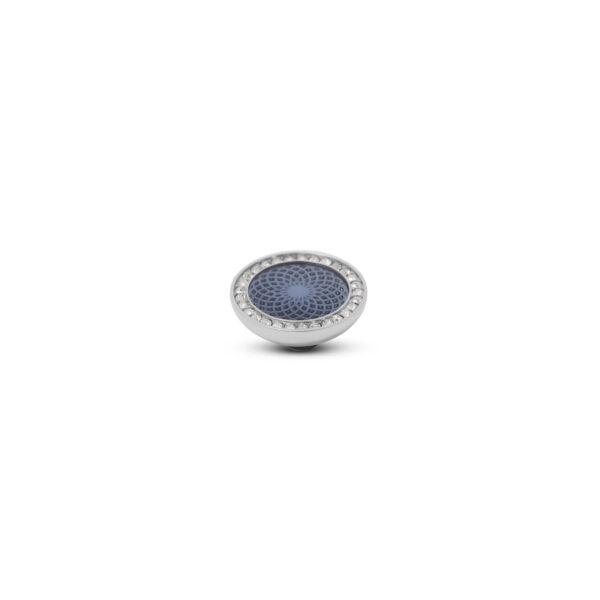 Melano Vivid Stone Engr Resin CZ Zilver 306