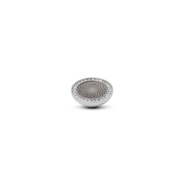 Melano Vivid Stone Engr Resin CZ Zilver 308
