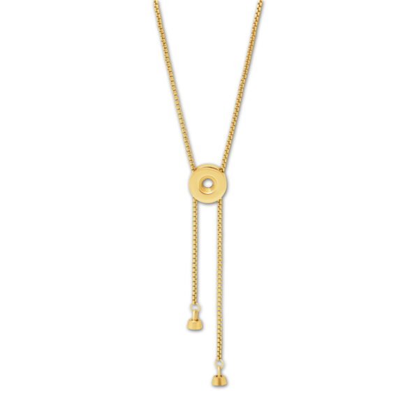 Melano Twisted Vivid Una Necklace Goud