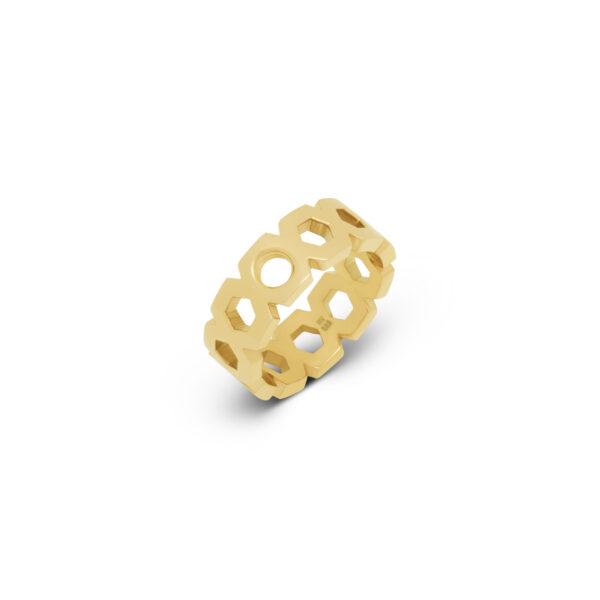 Melano Vivid Ring Vayen Goud