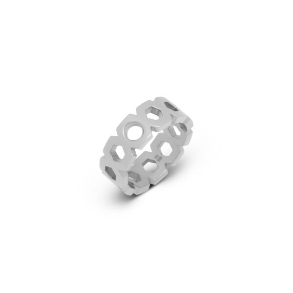 Melano Vivid Ring Vayen Zilver