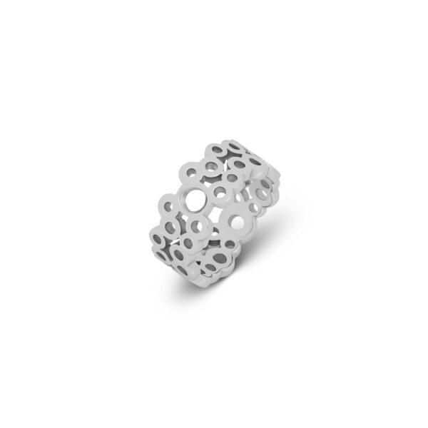 Melano Vivid Ring Viva Zilver