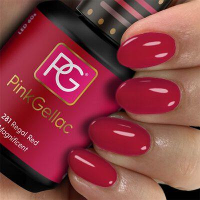 pink 281 regal red
