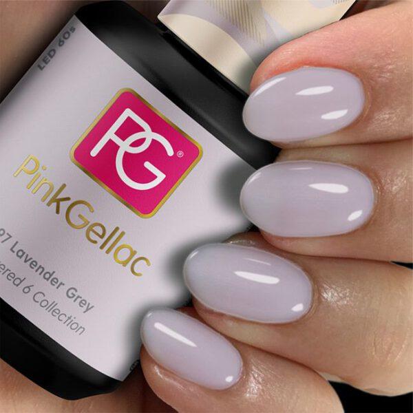 pink 297 lavender grey